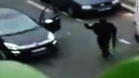 Videos show Paris gunmen on attack
