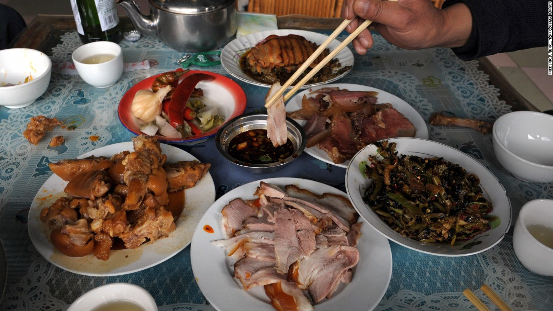"China was the first place to domesticate pigs and today is the world's top producer and consumer of pork. If these pork dishes in Yunnan Province don't convince you, something from <a href=""http://travel.cnn.com/most-creative-kitchen-chengdu-092981"">Chengdu</a> might."