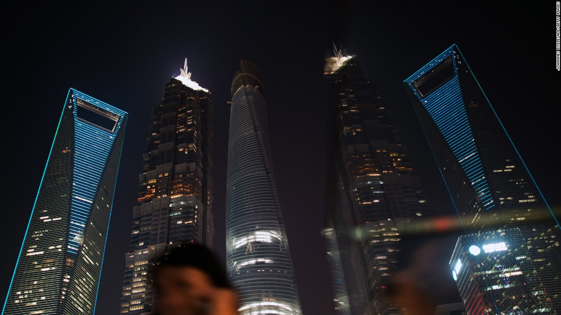 "More than double the height of London's Shard, <a href=""http://du.gensler.com/vol5/shanghai-tower/"" target=""_blank"">Shanghai Tower</a> is expected to open this year. The 632m building (center) will be China's tallest building and second only worldwide to Dubai's Burj Khalifa."