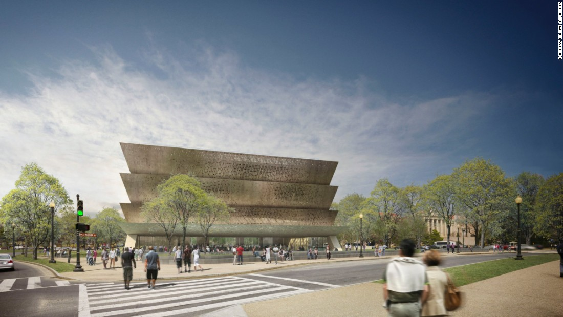 "It has earned him the moniker ""Obama's favourite architect"" and Tanzanian-born Ghanaian-British lead designer <a href=""http://www.adjaye.com/"" target=""_blank"">David Adjaye</a> is now fulfilling the promise of an American museum 224 years in the making. <br /> <br />[Artist's rendering. Note: Architects <a href=""http://www.freelon.com/"" target=""_blank"">The Freelon Group</a> have also designed parts of the museum]"