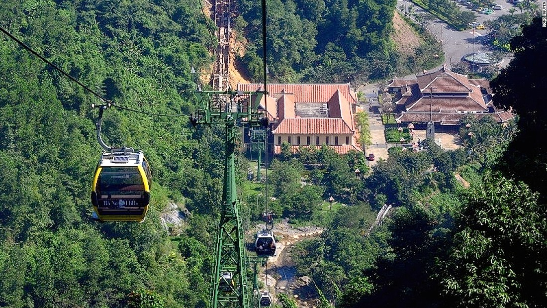 Opened in 2013, this is the world's longest gondola and stretches more than five kilometers long.