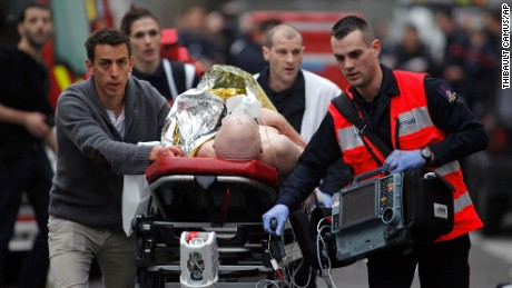 Watch as the Hebdo attack unfolds