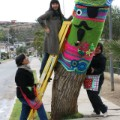 yarn bombing chile lanapuerto tree