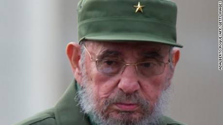 Former Cuban President Fidel Castro delivers a a speech during the commemoration of the 50th Anniversary of the Committees of Defense of the Revolution (CDR) September 28, 2010 in Havana.  AFP PHOTO/ADALBERTO ROQUE (Photo credit should read ADALBERTO ROQUE/AFP/Getty Images)