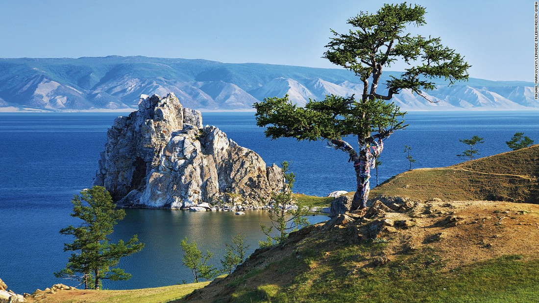 "Lake Baikal is approximately <a href=""http://www.lakebaikal.org/index.html"" target=""_blank"">25 million years old and 1,637 meters</a> at its deepest point, making it the oldest and deepest fresh water lake in the world. Half of the species at the UNESCO World Heritage Site are endemic to the lake, including the freshwater seal."