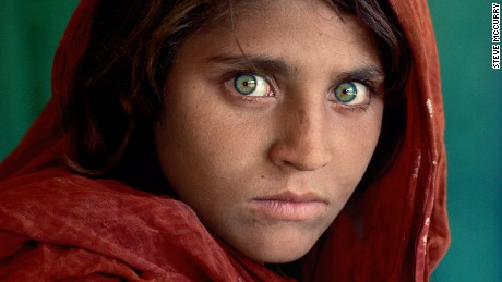 """Afghan Girl"", by Steve McCurry, is one of the most recognizable pictures in the world"