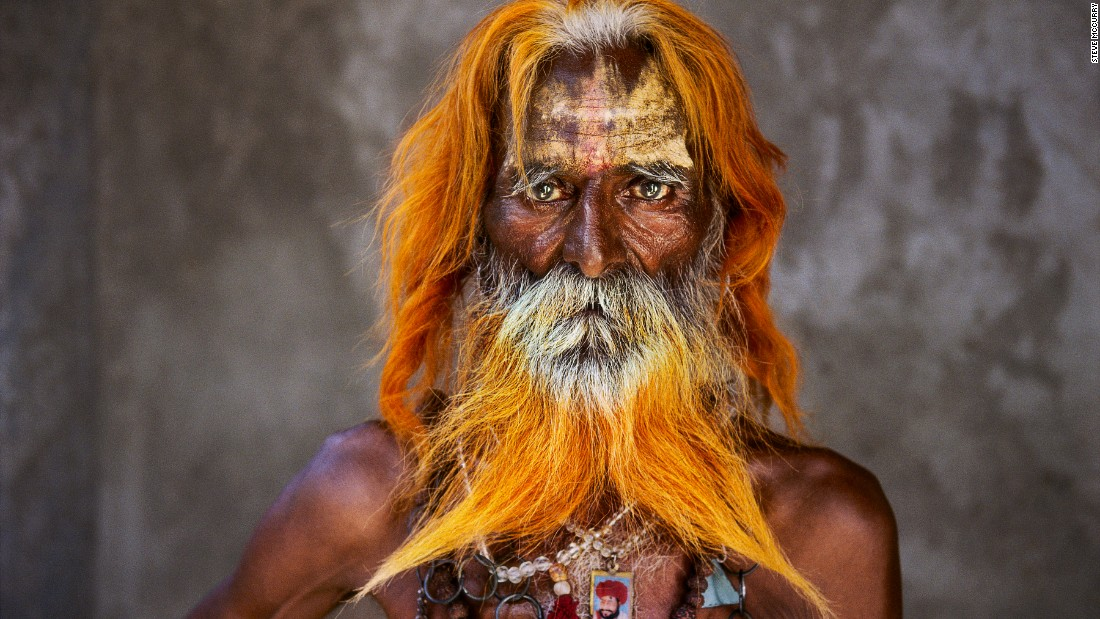 An elderly man from the Rabari Tribe in Rajasthan.