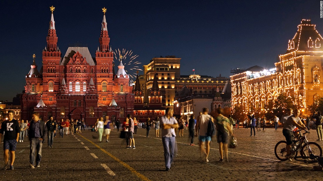 Surrounded by the State National Museum, Kremlin, the GUM Department Store and St. Basil's Cathedral, as well as traditional Russian cafes and shops, it takes days to properly explore Moscow's Red Square.