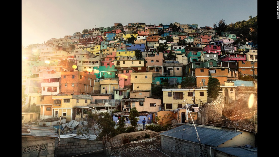 Jalousie is one of Haiti's biggest shantytowns, a vast expanse of cinderblock homes in the nation's capital of Port-au-Prince.