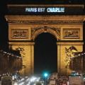 paris est charlie - arc de triomphe
