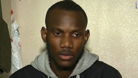 Lassana Bathily spoke with BFMTV.