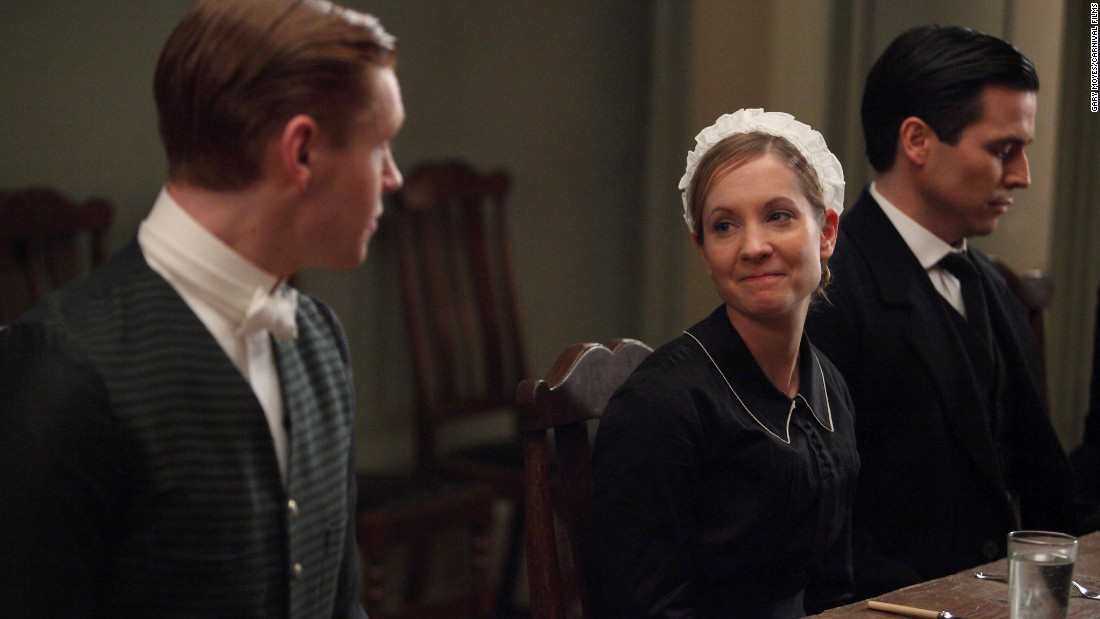 "<strong>Best supporting actress in a series, miniseries or TV film:</strong> Joanne Froggatt, ""Downton Abbey"""