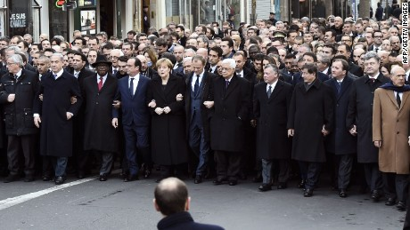 Activist: Some leaders shouldn't have marched in Paris