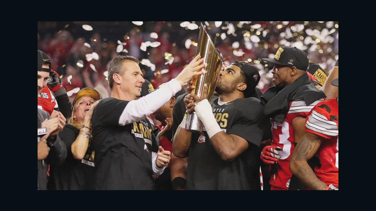 Ezekiel Elliott Ohio State Beat Oregon To Win National -