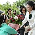 xi jinping tourism-peng liyuan korea