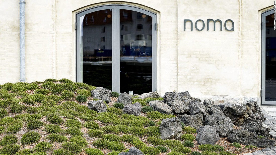 Copenhagen restaurant NOMA is setting up at the Mandarin Oriental Tokyo for six weeks. Reindeer moss with cep mushrooms and sea urchin with duck are among menu treasures.