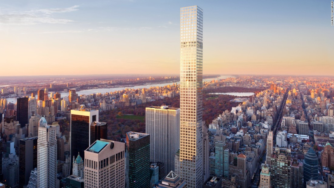 "Towering 50 meters above the Empire State Building, the tallest residential tower in the western hemisphere will open its doors this year. Already topped out, the 426-meter tower <a href=""http://432parkavenue.com/?state=home"" target=""_blank"">432 Park Avenue</a> will feature just 104 apartments, with residences staring at $17 million and full floor penthouses reaching $82 million. <br />[Artist's rendering.]"