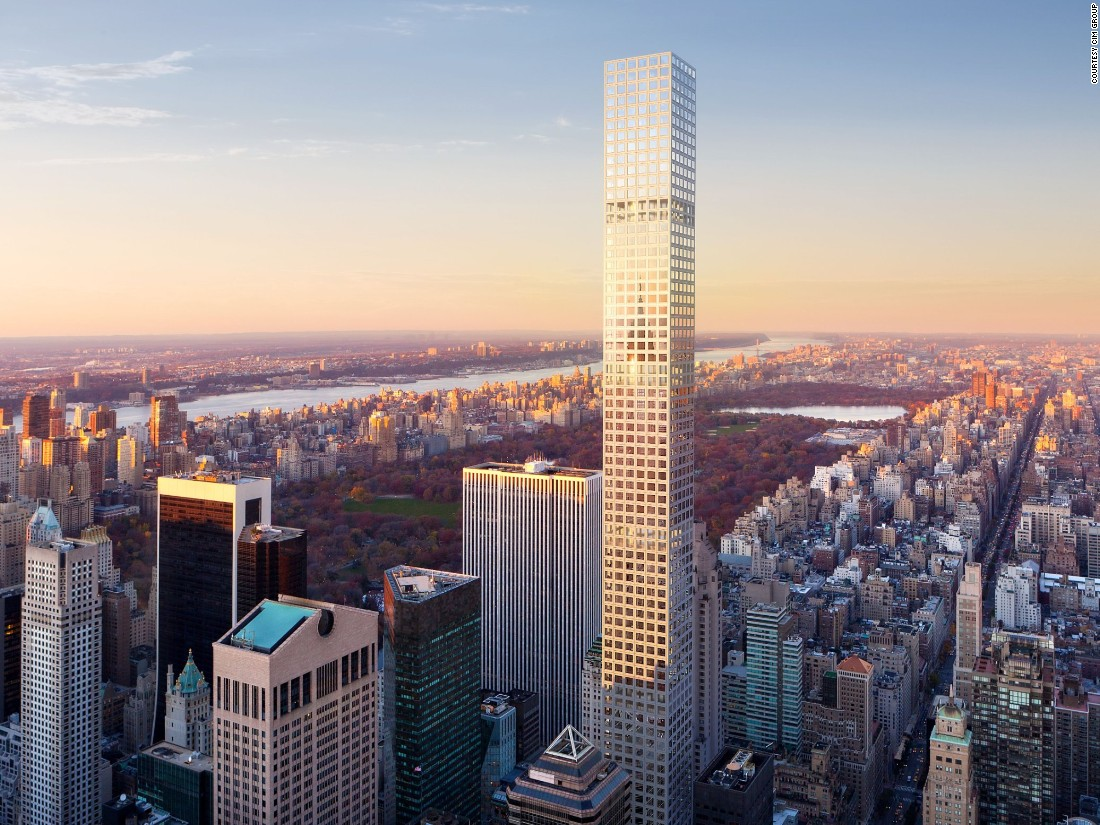 "<a href=""http://432parkavenue.com/?state=home"" target=""_blank"">432 Park Avenue</a>, the tallest all-residential tower in the western hemisphere, opened its doors in December 2015 and recently became the hundredth supertall building in the world. The 425.5 meter (1,396 feet) building was designed by Rafael Vinoly of SLCE Architects."