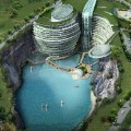 architecture songjiang hotel day
