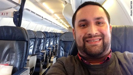 They rebooked everyone but me on another flight to LGA, so I am literally the only person on this plane. http://pic.twitter.com/ZZNPACUOfR