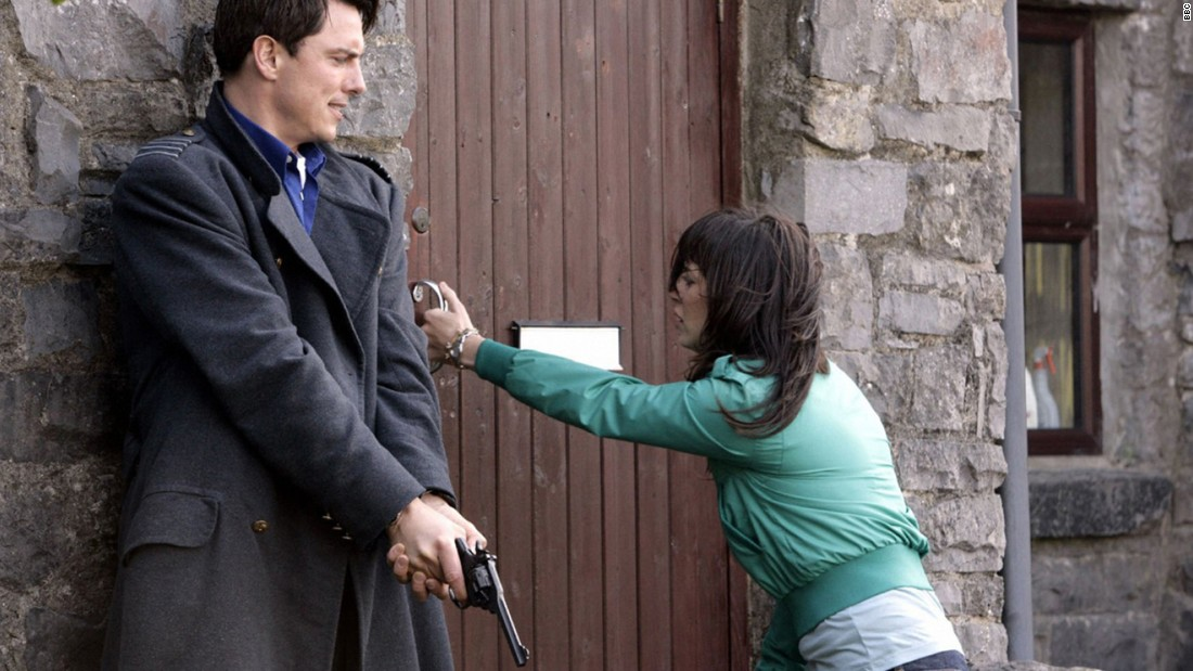 """Torchwood,"" starring John Barrowman and Eve Myles."