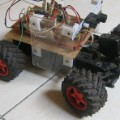 car robot chunky wheels