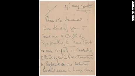 Titanic survivor's letter up for auction