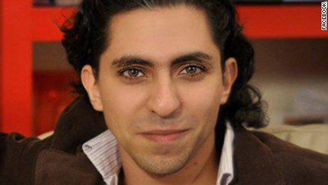 Saudi activist Raif Badawi from his Facebook Page.