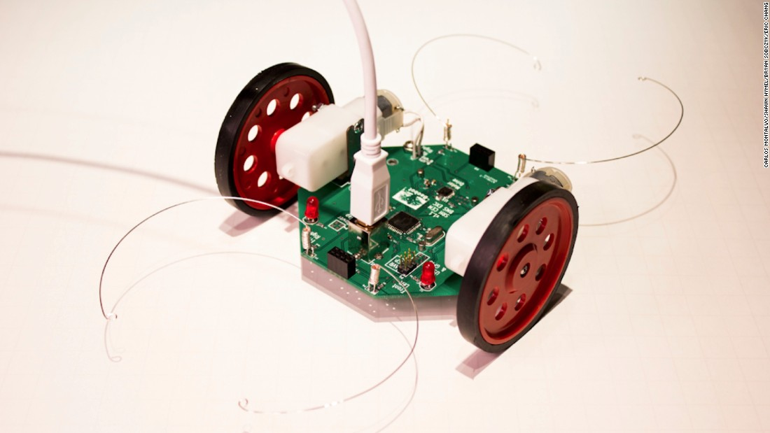 The Baobot is capable of sensing its environment and avoiding obstacles. With the add-on sensor module, it is able to follow dark lines. The robot was a winner in the 2012 design challenge at the Ashesi Robotics Experience in Ghana.