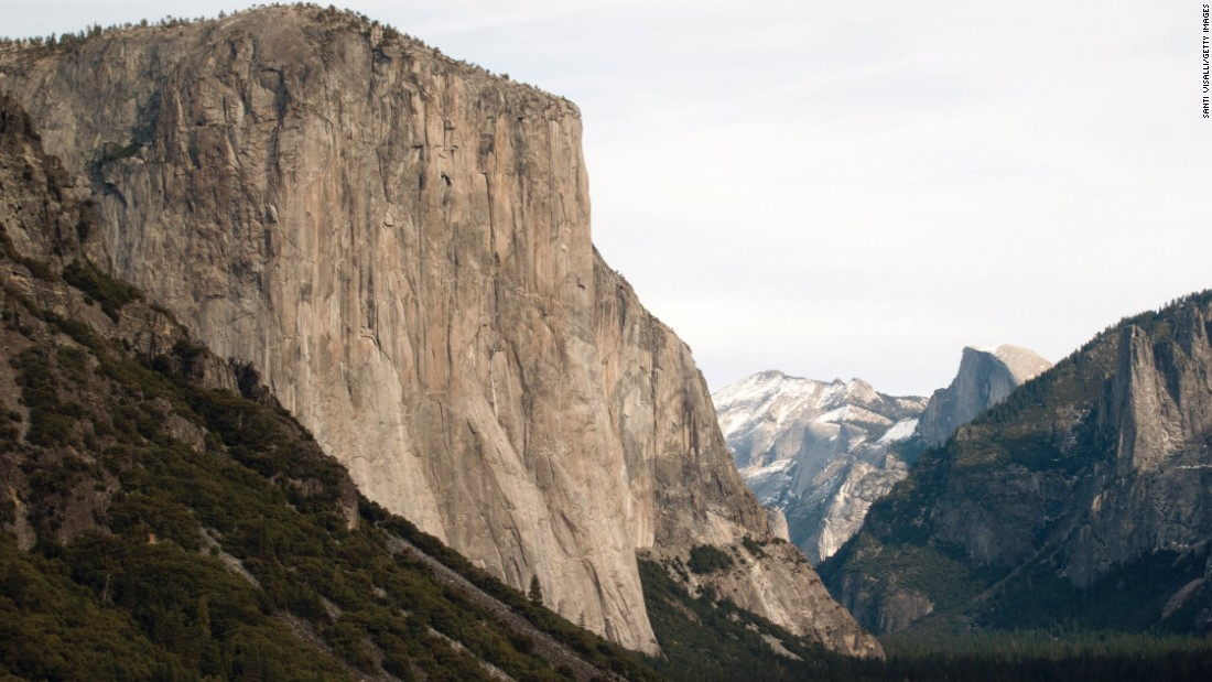 The Dawn Wall has few footholds and may be the most difficult climb in the world.