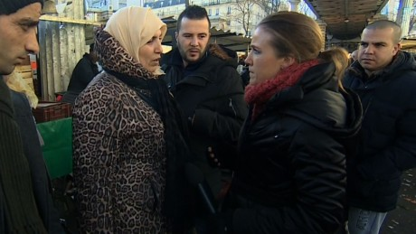 French Muslims react to new Charlie Hebdo cover