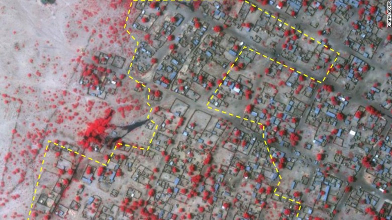 See satellite images of Boko Haram's growing reach