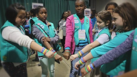 Cookie rally teaches girls valuable skills