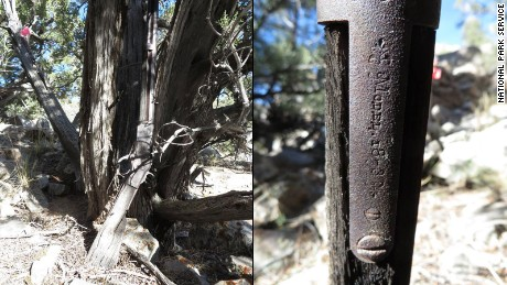 The National Park Service found a Winchester Model 1873 rifle in Great Basin National Park. It has dated the rifle back to 1882.