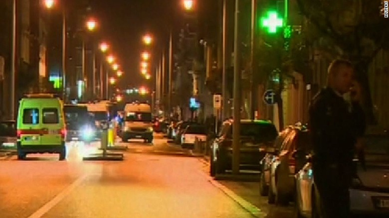 Belgian officials: 'Major terrorist attacks' thwarted