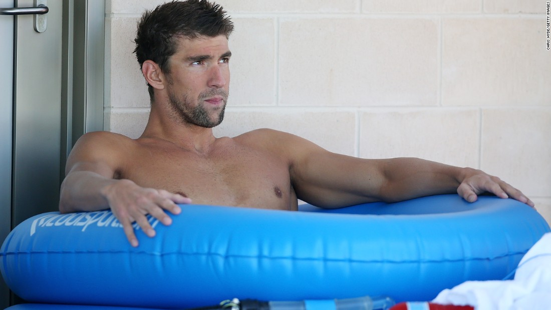 Don't fancy cryotherapy? The ice bucket challenge wouldn't make American swimmer Michael Phelps flinch. The 18-time Olympic gold medalist uses another popular cold remedy, ice baths, as part of his fitness regime.
