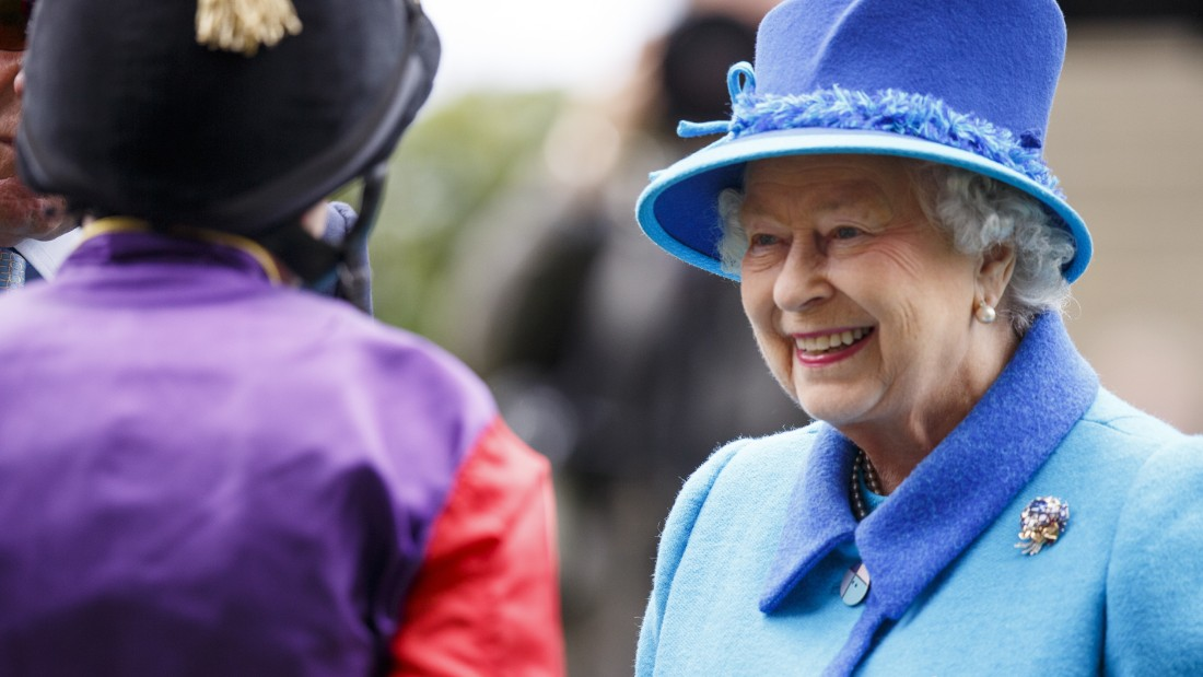 He rides for Britain's Queen Elizabeth II more than any other jockey in the world, and insists that riding for the monarch comes without pressure because she is so easy going.