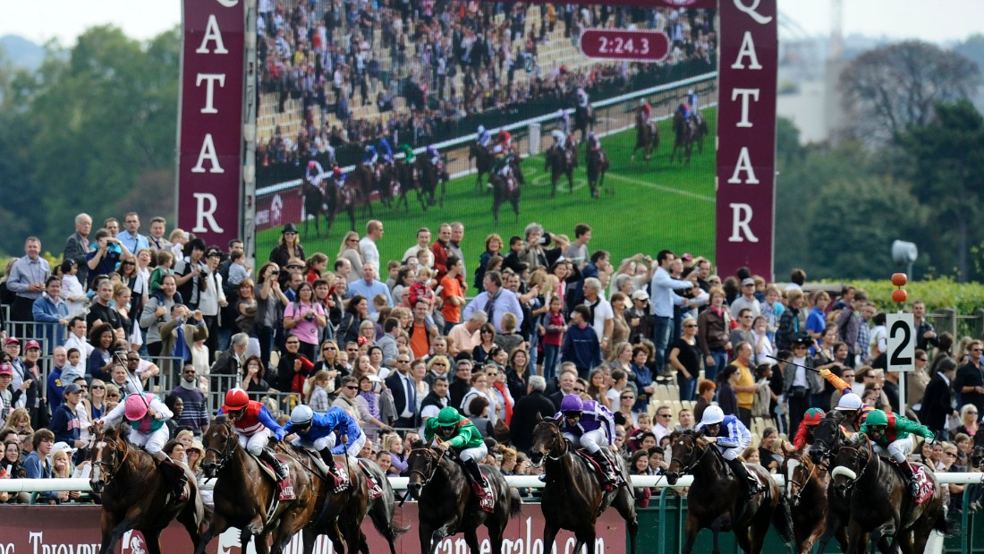 Arguably his biggest win, came at the world's richest race, The Prix de l'arc de Triomphe, in 2010 in which he beat a stellar field to win on board Workforce.