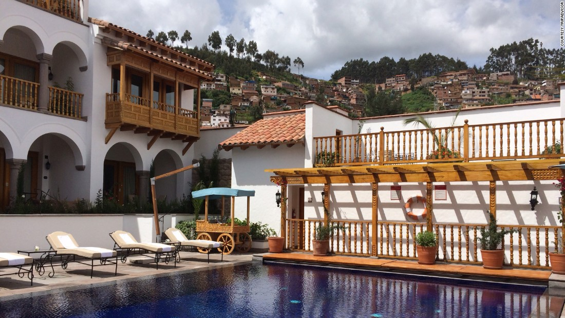 "The <a href=""http://www.belmond.com/palacio-nazarenas-cusco/"" target=""_blank"">Belmond Palacio Nazarenas</a> is a former palace and convent tucked behind Cusco, Peru's main square. Average nightly rates run about $590, with a dip to $550 in February."