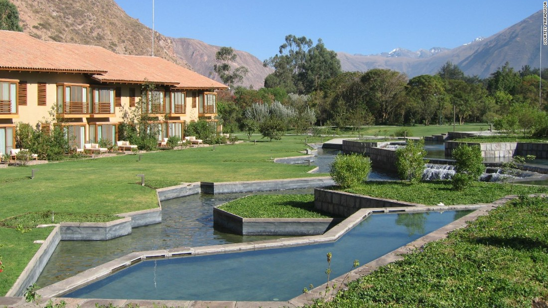 "<a href=""http://www.libertador.com.pe/en/luxury-collection/tambo-del-inka-hotel/general-information/"" target=""_blank"">Tambo del Inka</a>, a Luxury Collection Resort & Spa in Urubamba, Peru, has a private train station for journeys to Machu Picchu. Nightly rates run about $260, with a dip down to about $220 in February."