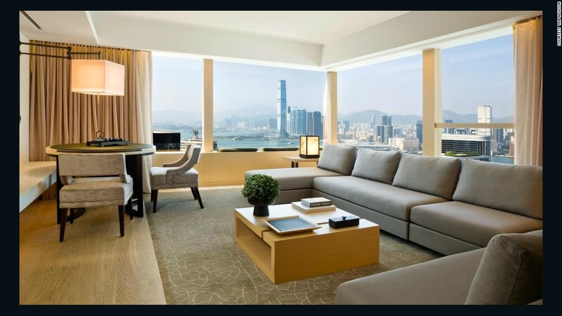 "<a href=""http://www.upperhouse.com/en/default.aspx"" target=""_blank"">The Upper House</a> offers a serene escape from the bustle of Hong Kong, plus amazing views of the city. Average 2015 nightly rates of about $750 drop to about $670 in February."