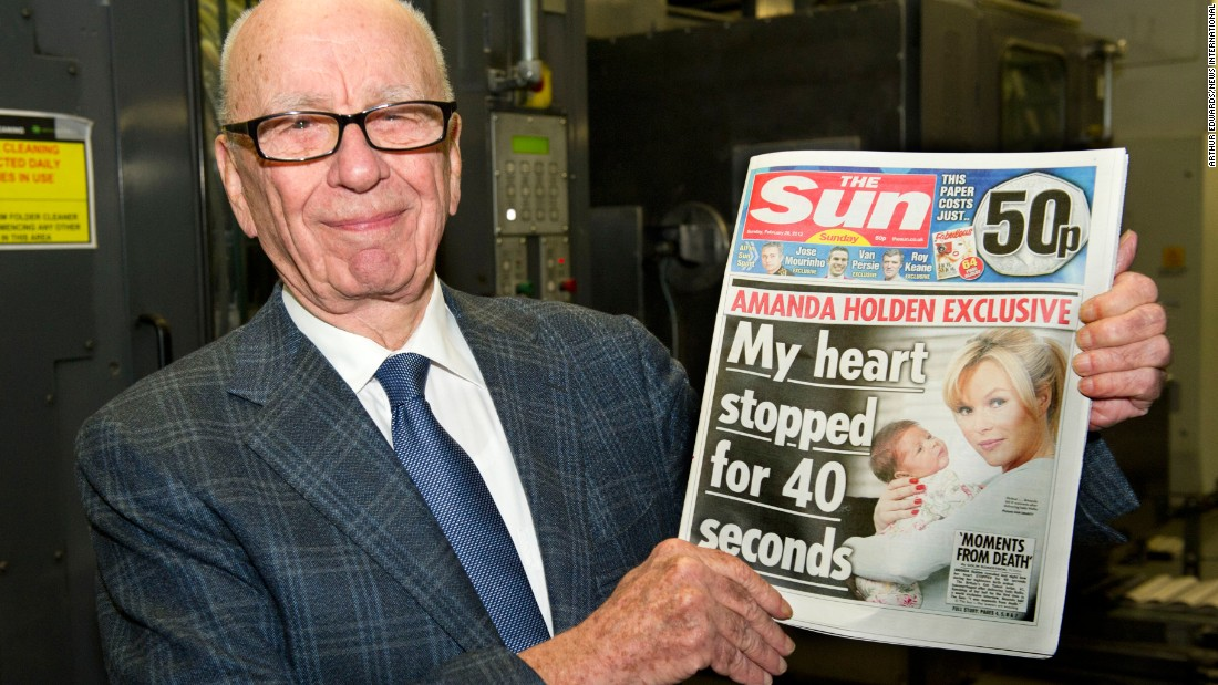 Forget about fathers in their sixties. Media mogul Rupert Murdoch was 72 when he had Chloe in 2003 with ex-wife Wendi Deng.