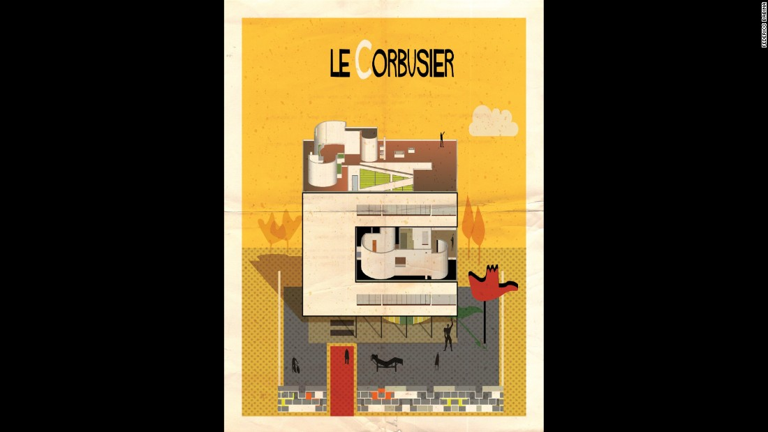 "<strong><br />1887-1965</strong><br /><strong>French-Swiss</strong><br />Le Corbusier is arguably the 20th century's most important architect. The Swiss-born French godfather of modernism -- real name Charles-Édouard Jeanneret-Gris -- set the template for the ""International Style's"" clean geometric forms in concrete and ste<br /><br />He designed more than 75 buildings in 12 different countries, but these creations are swamped by hundreds of incredibly ambitious, never-built plans for buildings and citi<br /><br />But he has also divided critics right down the line. As the modern city's most influential designer, Le Corbusier takes blame for both his own rigid formalism and the failings of dreary post-war tower blocks, built by inferior imposters without the same focus on space, light, and communit<br /><br /><strong>Quote: </strong>""A house is a machine for living in<br /><strong>Iconic building: <a href=""http://www.dezeen.com/2014/09/15/le-corbusier-unite-d-habitation-cite-radieuse-marseille-brutalist-architecture/"" target=""_blank""></strong>Unité d'Habitation, Marseille </a>"
