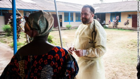 liberia, ebola, doctor, health clinic