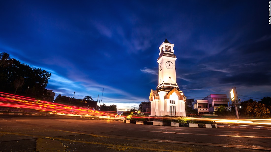 The Lampang Clock Tower is the focal point of the city, which has a population of about 230,000. It's a popular base for travelers.