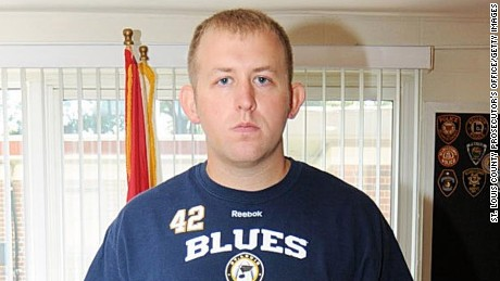 FERGUSON, MO - UNDATED:  In this undated handout photo provided by the St. Louis County Prosecutor's Office, Ferguson police officer Darren Wilson is seen in Ferguson, Missouri. Police officer Darren Wilson shot 18-year-old Michael Brown on August 9th, 2014. A St. Louis County 12 member grand jury who reviewed evidence related to the shooting decided not to indict Wilson on charges, sparking large ongoing protests. (Photo by St. Louis County Prosecutor's Office via Getty Images)