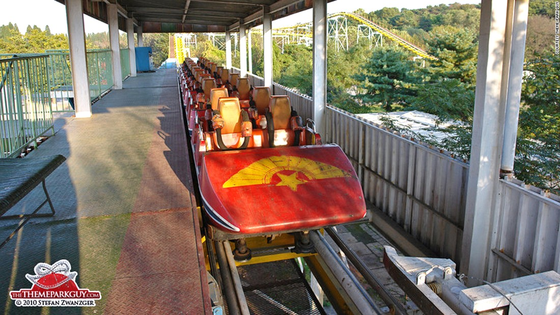 Pyongyang's fairground rides probably have an impeccable service record. It's just the cobwebs that suggest otherwise.