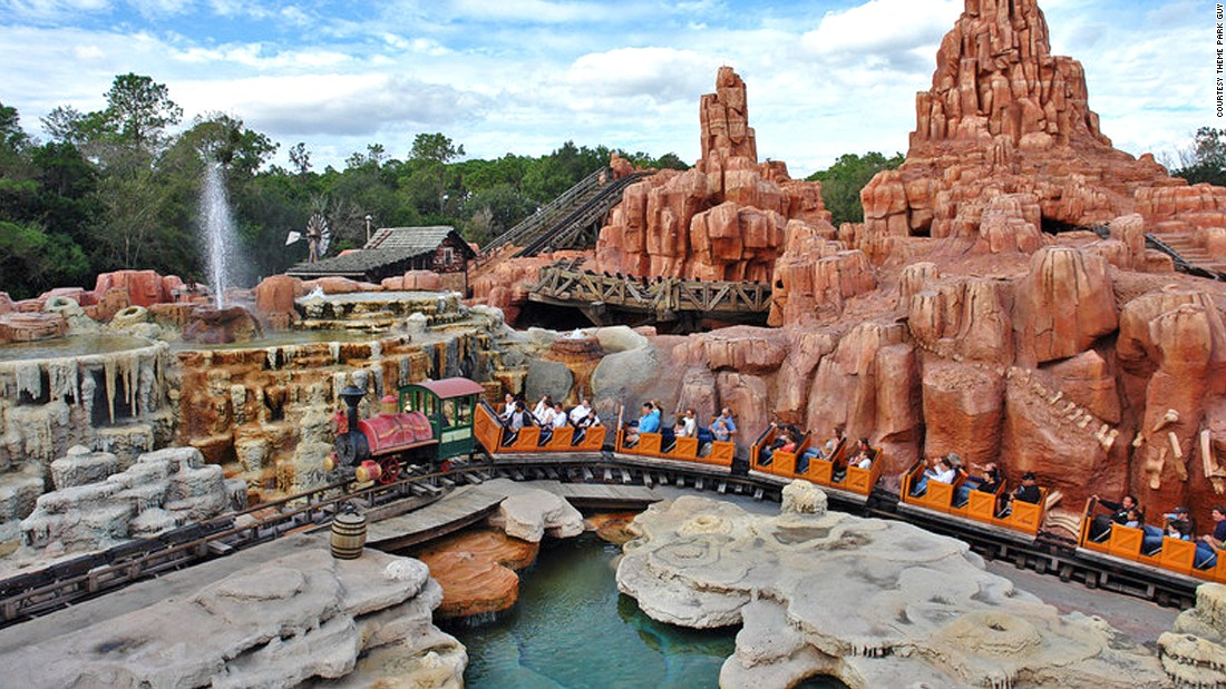 You can banish the tunes of It's a Small World with an old-fashion thriller like Big Thunder Mountain Railroad.