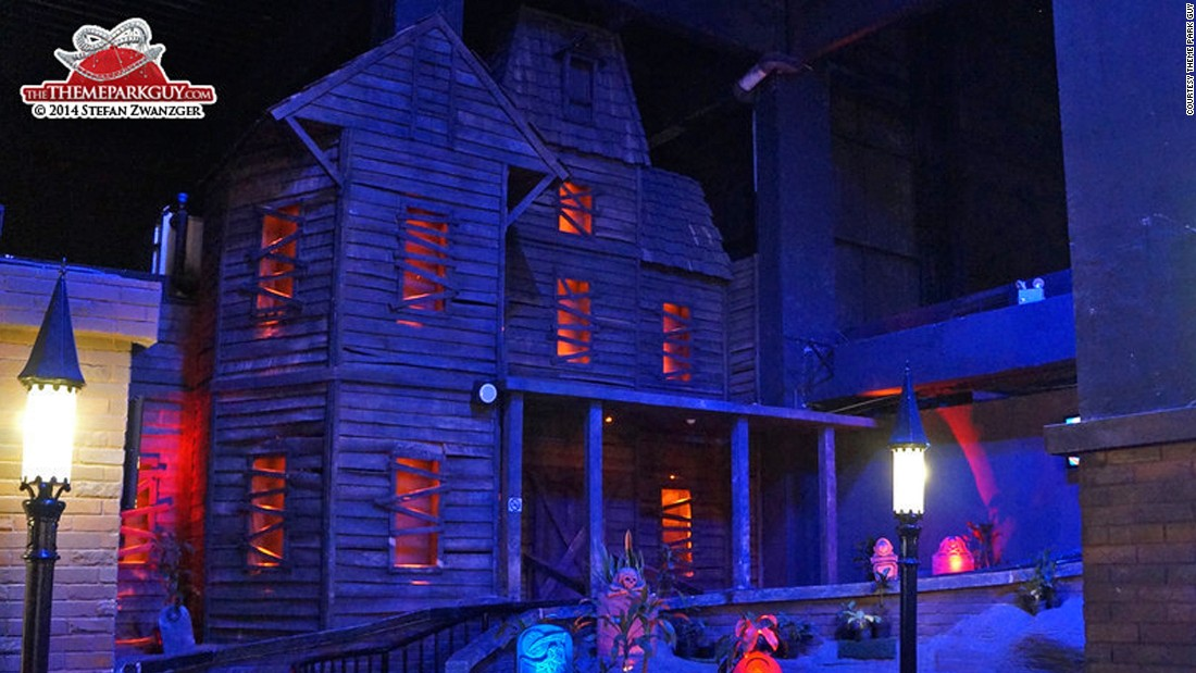 """The ghost train at Indonesia's Trans Studio Makassar is a genuinely fun spooky experience, taking passengers through a haunted house with Indonesian """"spirits."""""""