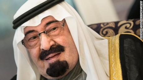 File photo: Saudi King Abdullah bin Abdulaziz al-Saud